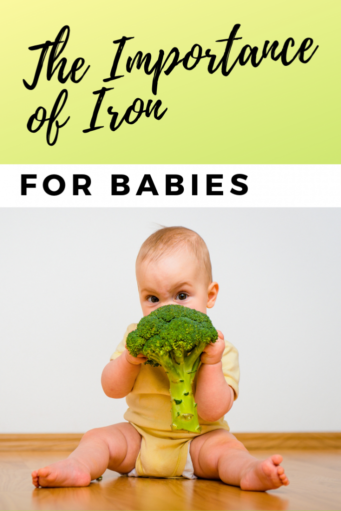 Why iron is important for babies