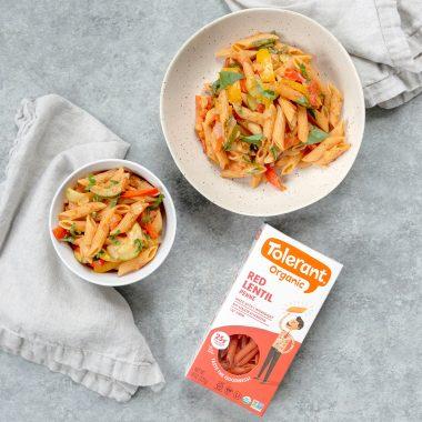 red lentil pasta recipe