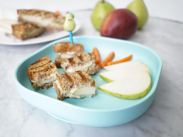 "Pear Grilled ""Cheeze"" Sandwiches"